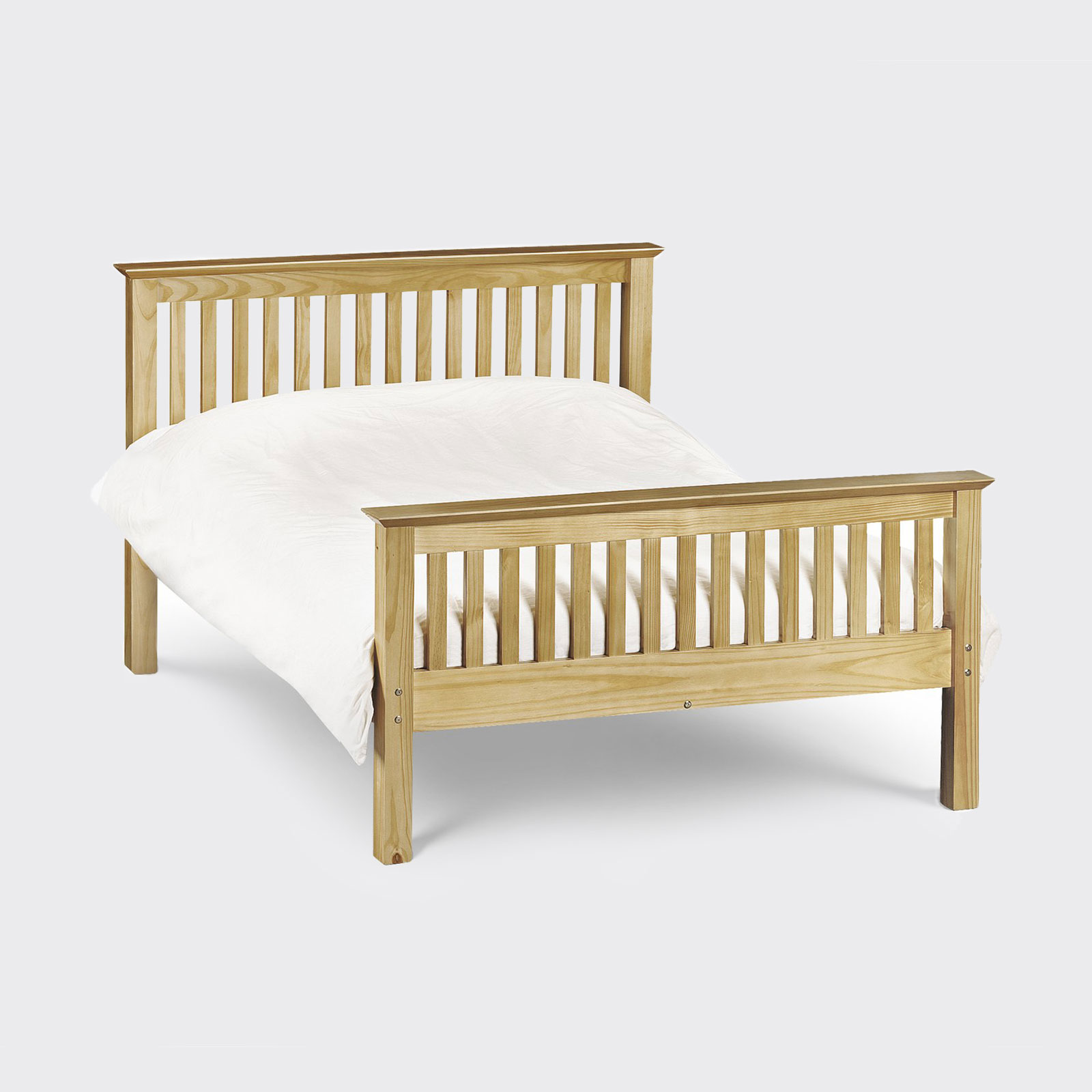 Barcelona bed frame with Rio mattress