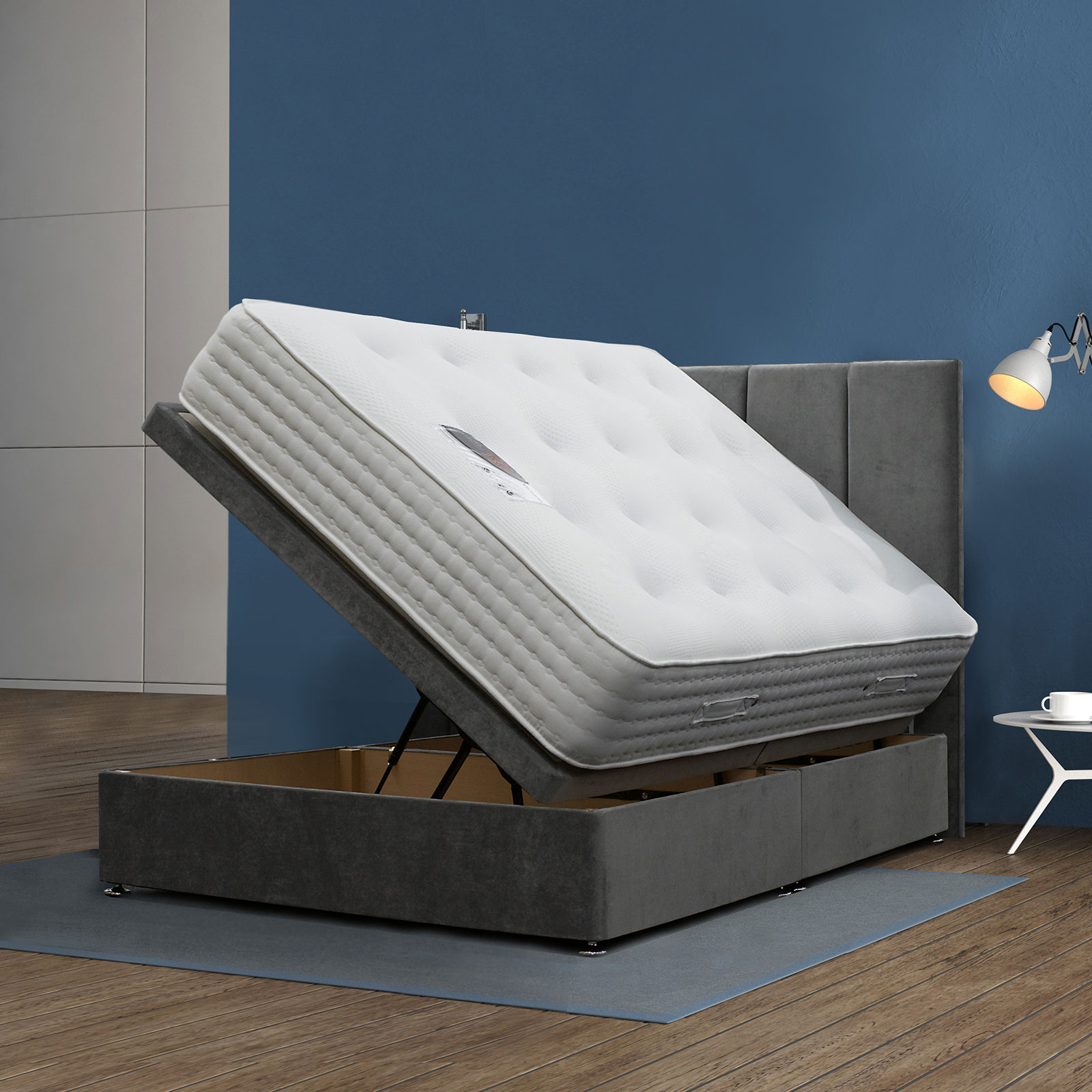 Victoria Ottoman divan with Ortho mattress